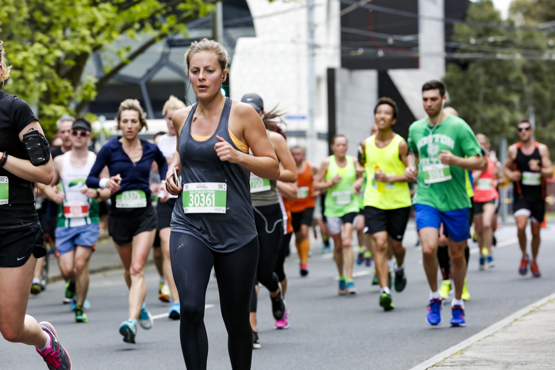 Melbourne half marathon  july