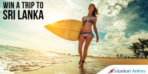 Win a trip to Sri Lanka