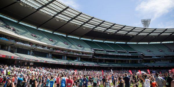 Biggest Medibank Melbourne Marathon Festival in history