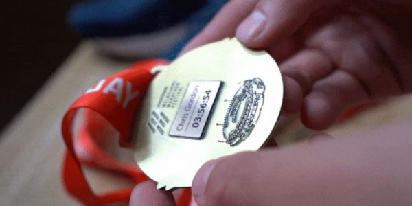 Personalise your medal