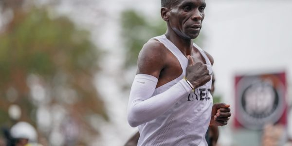Eliud Kipchoge makes history by running sub-two hour marathon!